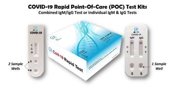 Covid-19 Rapid POC Test Kits